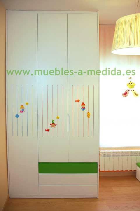 Comprar mueble habitaci n con litera infantil juvenil a medida for Muebles zapateros a medida