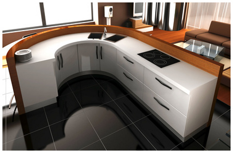 Mueble cocina formica a medida for Medidas de mobiliario de cocina