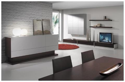 mueble salón-comedor a medida