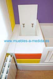 Mueble Cambiador para Bebés con Contenedor
