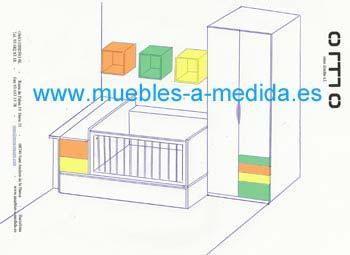Dibujo del Croquis de la Habitación para Niños