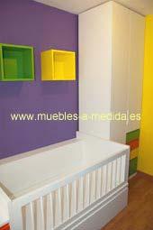 Habitación a Medida para Niños con Armario a Medida