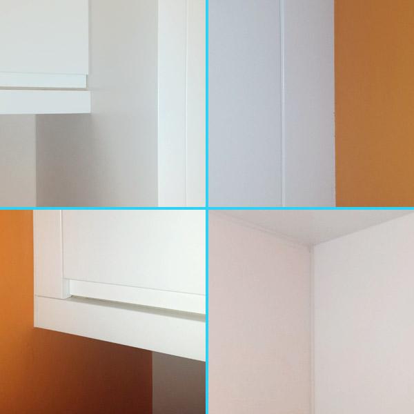 Muebles a medida ajustados a la pared