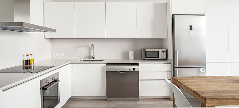 Mueble cocina formica a medida for Armarios para cocina
