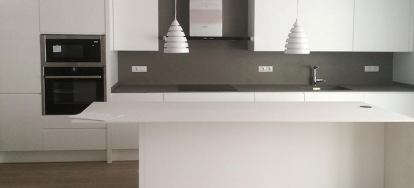 Mobiliario lacado para cocinas